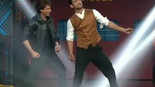 shahrukh khan sushant singh rajput dancing on chhaiya chhaiya on lip sing battle