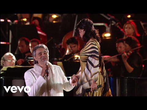 Andrea Bocelli Laura Pausini Dare To Live HD ft. Laura Pausini