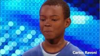 Malaki Paul, Menino (garoto) 9 anos, chora ao interpretar Beyonce (Listen) e emociona a todos