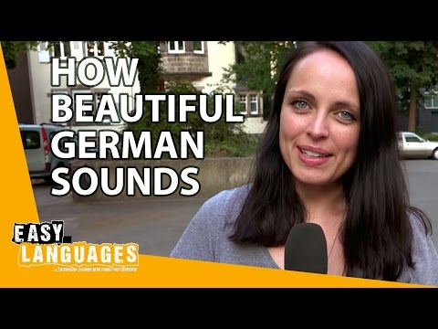How beautiful German sounds compared to