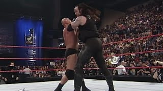 The Undertaker makes his SmackDown debut