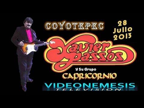 Xavier Passos en vivo Coyotepec 28 de Julio 2013