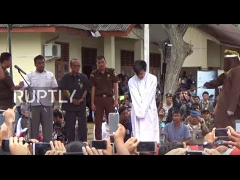 Xxx Mp4 Indonesia Two Men Caned Publicly For Gay Sex In Banda Aceh 3gp Sex