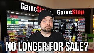 GameStop No Longer For Sale - Stocks PLUMMET!    RGT 85