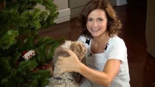 Coprire la base dell'albero di Natale | Fai da te