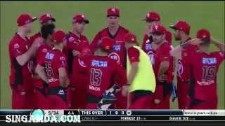 sakib 4 wickets from 13balls in bigbash