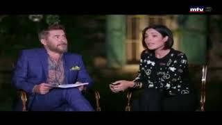 """فيديو طريف لعابد فهد ونادين نسيب من كواليس مسلسل """" طريق """""""