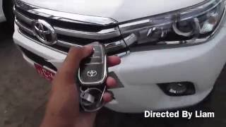 2016 Toyota Hilux Startup and review