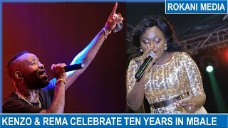 Eddy Kenzo And Rema Take Their Ten Year Celebrations To Mbale !!!!!