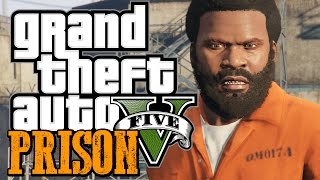 GTA 5 - ESCAPING FROM PRISON - GTA 5 Prison Mod (GTA 5 Funny Moments w/ Mods)