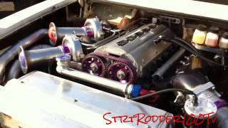 Twin Turbo 800 Hp 3.1 Liter Toyota Hilux