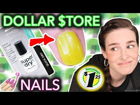 Dollar Store Nail Art Challenged when the taco doesn t dry