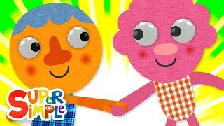 What's Your Name? | Kids Songs | Super Simple Songs