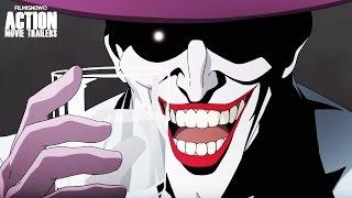 BATMAN: THE KILLING JOKE - The animated movie | Official Trailer [HD]