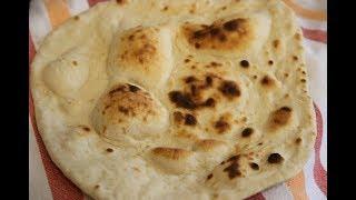 نان خانگی شماره 1 ، نان تافتون تنوری بدون مایه خمیر، بسیار ترد و لذیذ    Episode_87