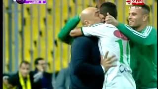 المصرى VS الاهلى ... احمد ياسر يحرز الهدف الاول لـ نادى المصرى فى الدقيقة 10 .. 1 / 0