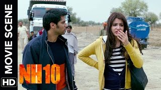 Neil Gets Slapped By Darshan | NH10 | Movie Scene | Anushka Sharma, Neil Bhoopalam