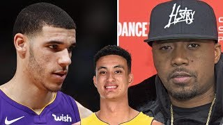 Lonzo Ball Going Head-2-Head In Rap Battle With Nas Thanks To Kyle Kuzma