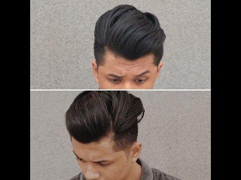 Mens hair:-Medium/Long Hair Undercut Slickback for Indian Men[Products in India]