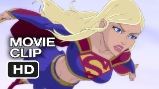 Superman: Unbound Movie CLIP - Supergirl (2013) - Superman Animated Movie HD