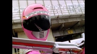 Power Rangers Operation Overdrive - Pirate in Pink - Pink Ranger vs Bombardo (Episode 6)