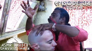 World's Greatest Head Massage 21 - Baba the Cosmic Barber - ASMR intentional