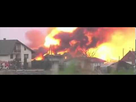 Xxx Mp4 A Powerful Explosion In Poland Fire Embraced Half Of Village 3gp Sex