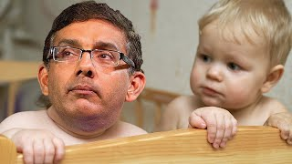 Dinesh D'Souza Throws Tantrum, Cries He's 'Not A Crybaby'