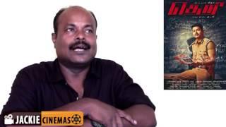 Theri movie review by jackiesekar | Vijay, Samantha, Amy Jackson | Atlee | G.V.Prakash Kumar