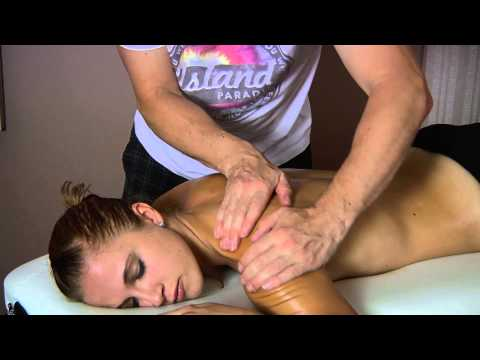 Back Massage to Reduce Upper Back Pain & Relaxation - ASMR