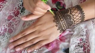 Eid inspired henna tutorial 2016 | Raisa's Mendhi Art