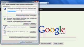 Définir Google comme page d'accueil.mp4