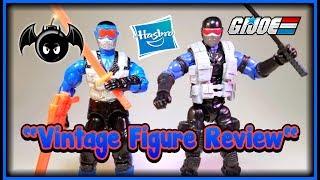 GI Joe Snake Eyes 1991 & 2012 figure review. (Time Capsule of Toys) Ep.4
