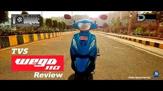 New TVS Wego 110 Review & First Impression | Torque - The Automobile Show