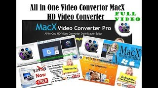 All in One MacX HD Video Converter Pro for Windows Full Tutorial