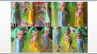 Little Barbie Mariposa Fairy Princess Fluttering Butterfly | Mariposa Princess Doll Toy Review