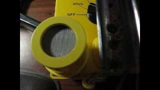 Sturdy Yellow Speaker for CD V-700 Geiger Counter cdv700 cdv 700 cd v700 cd v-705 headphone jack
