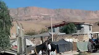 باز شدن کوه در زلزله کرمانشاه