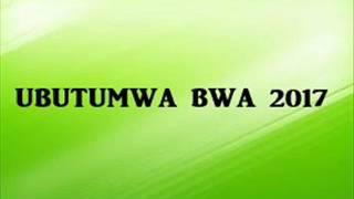 Ubutumwa bwa  2017