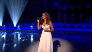 Live Performance By Leona Lewis - Footprints In The Sand (On the ice)