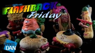 Flashback Friday: 1988 Mattel Food Fighters Toy Line Review