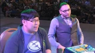 UMVC3 EVO 2016 Top 8 Justin Wong  vs Chris G