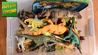 Dinosaur toy collection - Jurassic World, Dinosaurs eggs, Safari Ltd., and other dino toys for kids