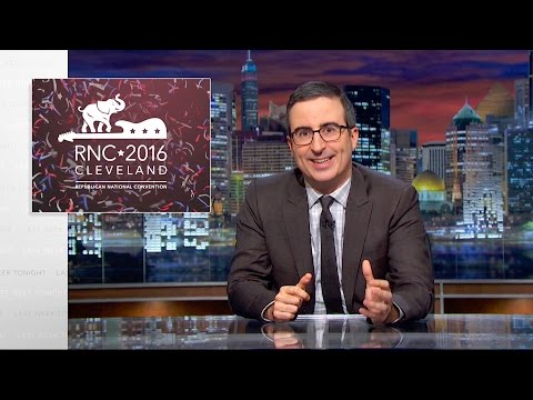 Last Week Tonight with John Oliver Republican National Convention HBO