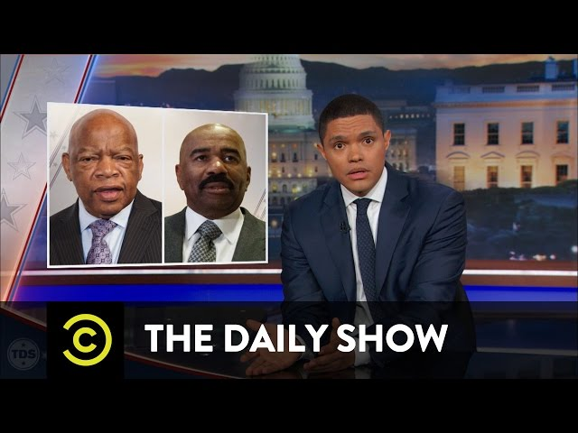Donald Trump's Eventful Martin Luther King Day Weekend: The Daily Show