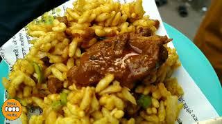 Amazing Food Jhal Muri at Gausul Azam Market, Dhaka | Roadside Food - Tasty Jhal Muri