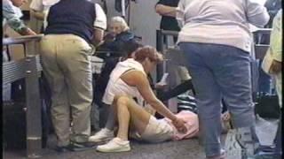 Gina Terrano Craig w/ Mother Having Seizure - Airline TV Show