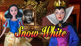 Toys Story Time! SNOW WHITE & THE 7 DWARFS - Kid-Friendly Fairy Tale With Disney & Barbie Dolls