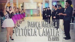 Dança maluca na Festa de 15 anos da Vitória Camila