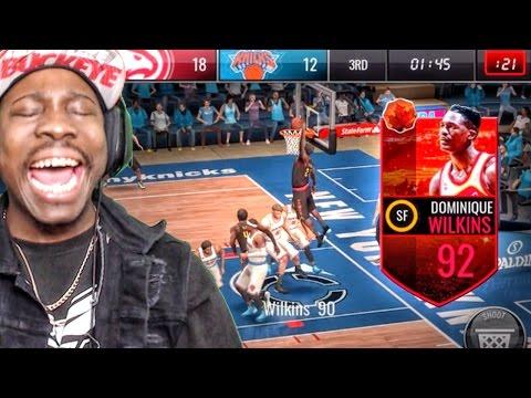Xxx Mp4 92 HARVEST LEGEND DOMINIQUE WILKINS POSTERIZES NBA Live Mobile 16 Gameplay Ep 44 3gp Sex